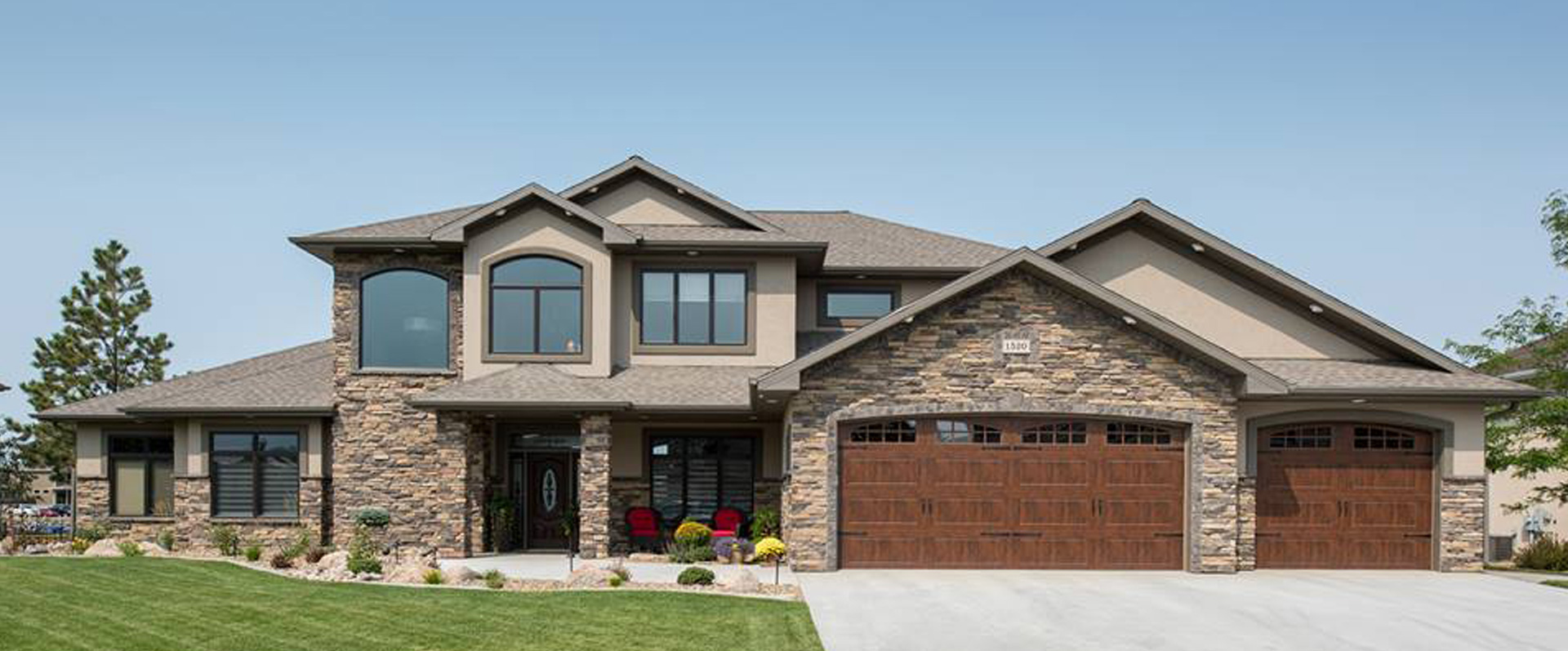 Custom home builder bismarck nd k l homes inc for Nd home builders